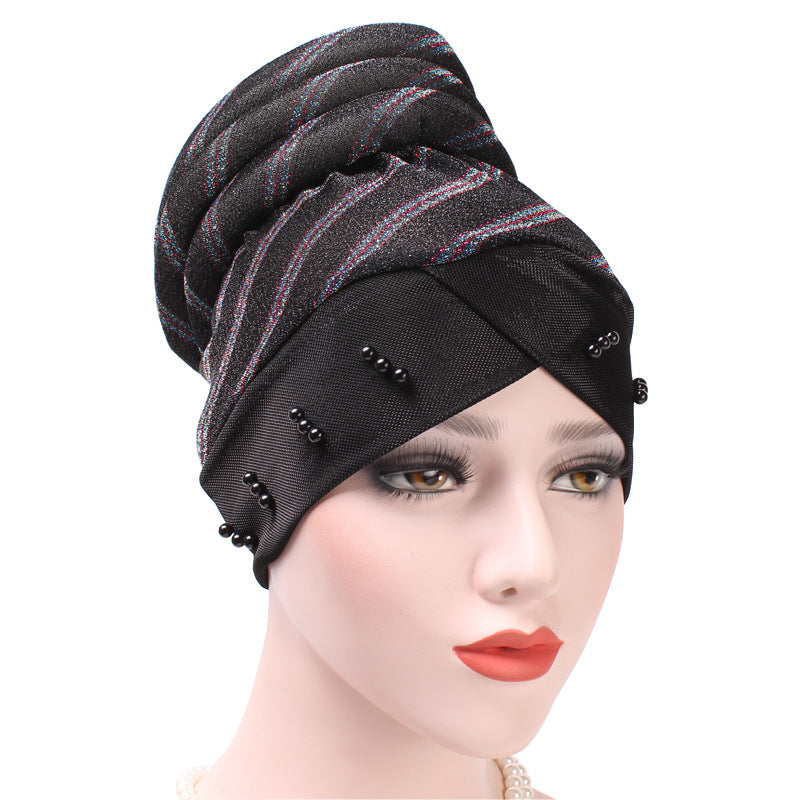 5a47c3d2a75d1 New Women s Hat India Ladies Muslim Women s Hijabs Hat Chemo Hat ...