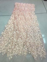 Newest African Tulle Lace Fabrics With Stones Embroidery Net Lace African French Lace High Quality With Beads Wedding CXY5