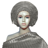 Nigeria Beautiful Headtie afro GELE Headscarf  already made African Traditional ASO OKE For Women