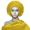 Image of Nigeria Beautiful Headtie afro GELE Headscarf  already made African Traditional ASO OKE For Women