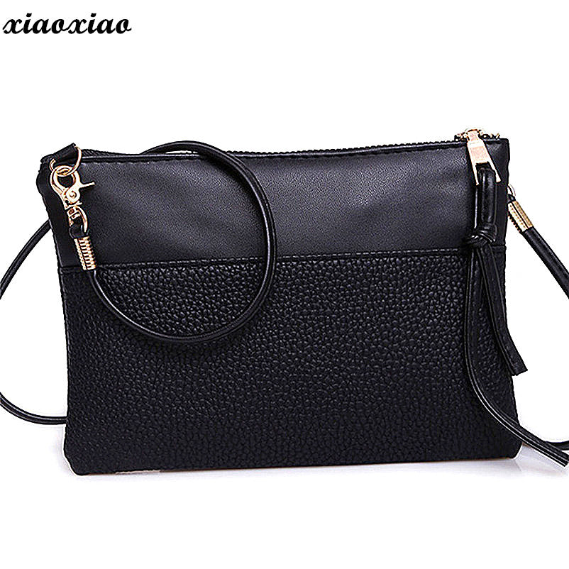 d57fc5309c82 PU Leather Women Shoulder Bags Female Purse and Handbags Girls ...