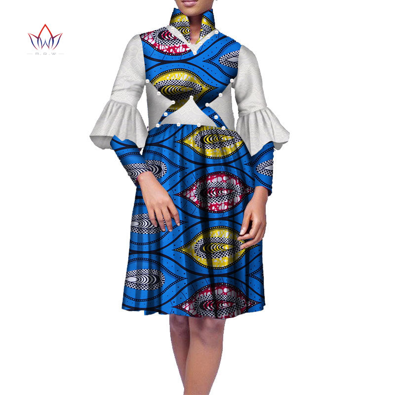 ... Plus Size Africa Dress For Women African Wax Print Dresses Dashiki Plus  Size Africa Style Clothing ... d59a7fdf6778