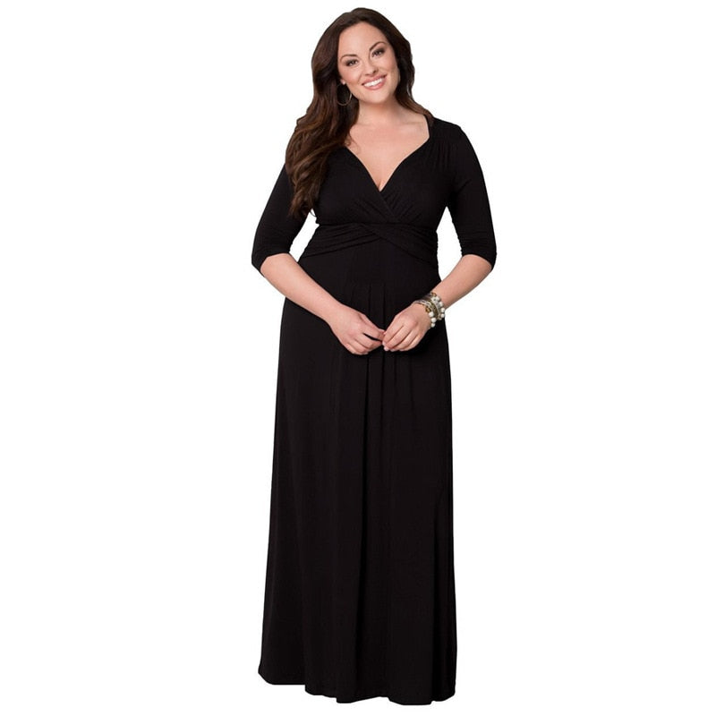 72c177bdc9 Hover to zoom · Plus Size Dress 5XL 6XL Hot New Sexy Elegant 2018 Spring  Summer Plus ...