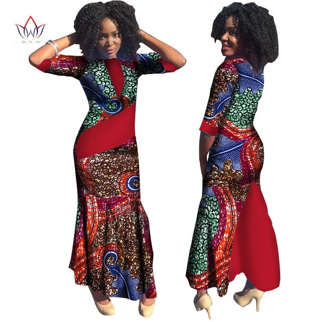 Plus Size Summer dresses women 2019 traditional african fashion ...