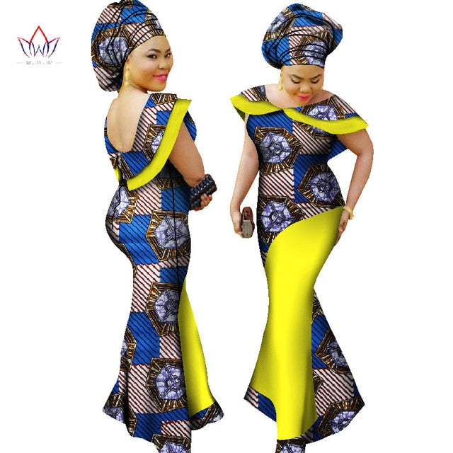 Plus Size winter dresses women 2018 traditional african fashion ...