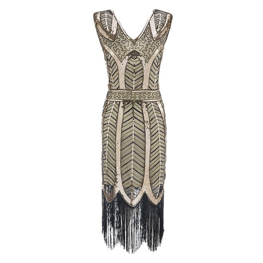 Ladies Plus Size Womens Sleeveless Sequin Lace Flapper Style Party Evening Dress