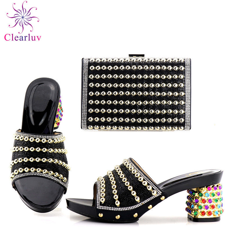 ... Purple Color African Shoe and Bag Set Italian Shoes and Bags Set Envio  Gratis Matching Italian ... 2bdb65b71dba