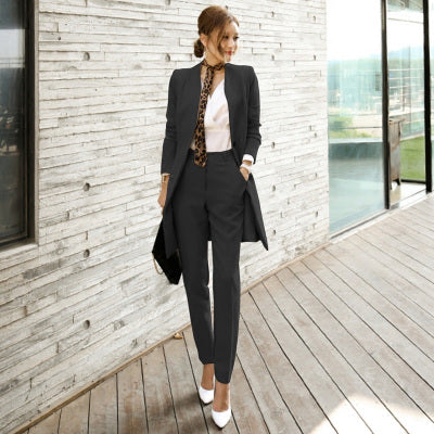 61c5a9a423512 SMTHMA HIGH QUALITY Pant Suits Women Casual Office Business Suits Formal  Work Wear Sets Uniform Styles .