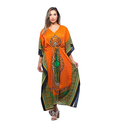 f8259200296 ... Image of African Print Dashiki Maxi Caftan For Women at Amazon Women s  Clothing store