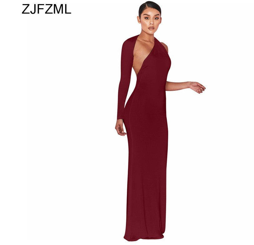 13a657d634d 2018 New Fashion Summer Women Elegant Long Sexy Bodycon Maxi Dress ...