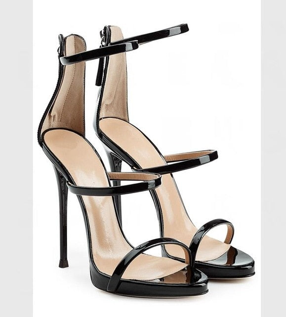 7044b0cf66 Hover to zoom · Sexy Club Wearing Thin Heels Open Toe Sandal for Woman Wine  Red Velvet Cutouts High heel