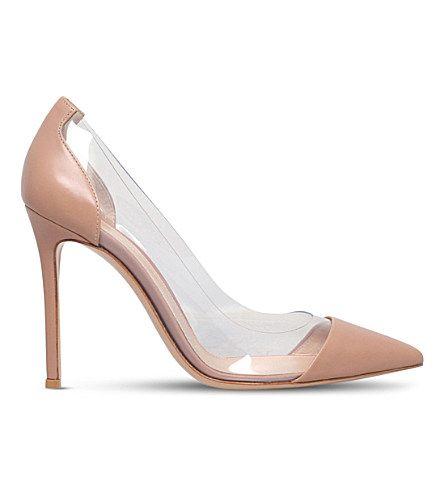 1fb2047cb Sexy Lady Pointed Toe Red Party Pumps Plexi Clear PVC Transparent Shoes  Women Slip On Bridal. Hover to zoom
