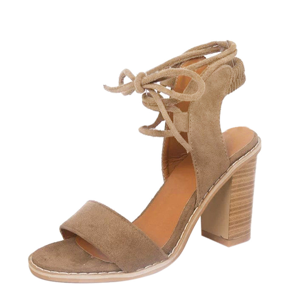 abbc943be0 ... Heels Sandals Woman sandals Thick with Women Shoes Suede. Hover to zoom