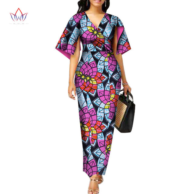 760a7983330 Hover to zoom · Summer 2018 Fashion African Dresses for Women Dashiki Plus  Size African Clothes Vestidos ...