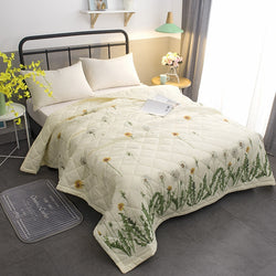 Summer Air Conditioning Children Quilt Washed Cotton Comforter Blanket  cover Stitching Quilt Filling bedding sets KTB-7