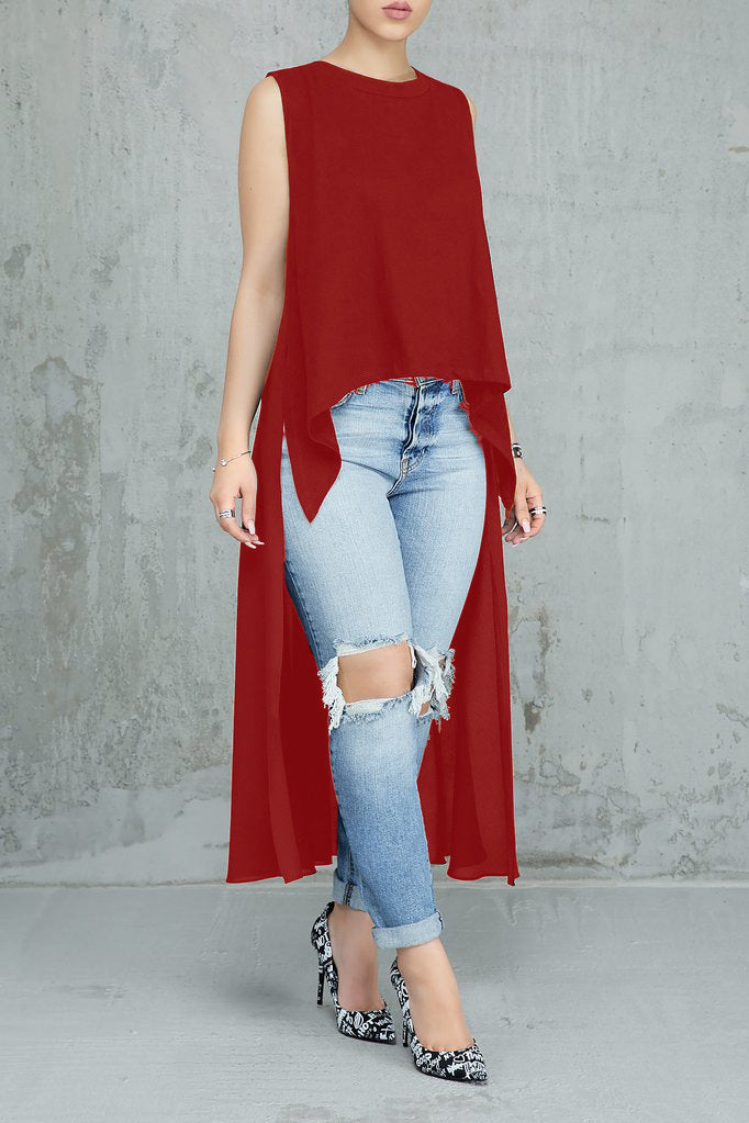 be7d7b8469 Hover to zoom · Summer Tops For Women Asymmetrical Cut Modern Sexy Dresses  Ladies Solid Vestidos ...
