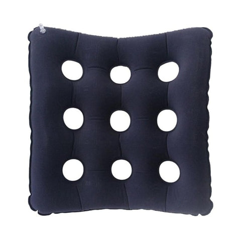 Travel Inflatable Chair Cushion Air Seat Cushion Waffle Seat Cushion Heat Sealed for Home Office Car Chair Pad