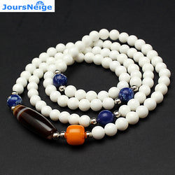 Wholesale White Natural Shell Bracelets With Wrapped Silk Crystal beads hand string Lucky for Men Women Bracelet Jewelry