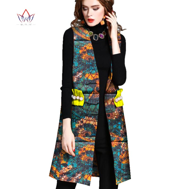 30e32e91d010 ... Women African Clothing Dashiki women top notched African Style  Sleeveless Outwear Africa Print clothing Plus Size