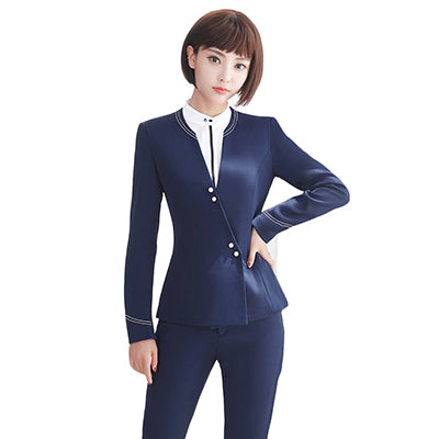 Back To Search Resultswomen's Clothing Suits & Sets New 2019 Spring Summer Formal Ladies Blue Blazer Women Business Suits With Pant And Jacket Sets Work Wear Office Uniform Styles With A Long Standing Reputation