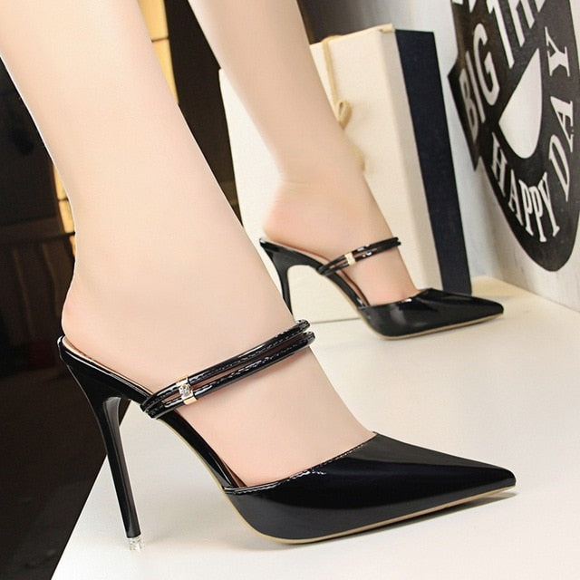 bb4626386c3 Women Pumps Sexy High Heels Sandals Woman Wedding Party High Heels Gold  silver Shoes 2018 Summer. Hover to zoom