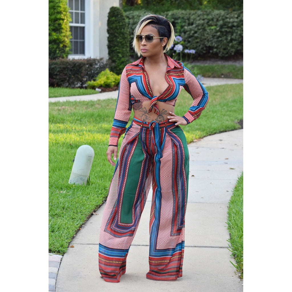 60654ff299 Hover to zoom · Women Tracksuits Casual Two Piece Pants Set Long Sleeve  Crop Top Wide ...