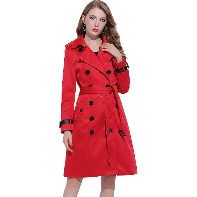 Manteau trench coat long