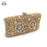 XIYUAN BRAND diamond crystal Wallet Long Design Day Clutch for wedding  Casual Lady Cash Purse Women Hand Bag Carteira Feminina