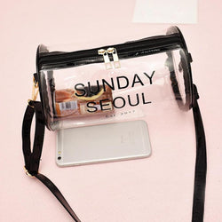 Xiniu women messenger bags mini crossbody Shoulder Bag Transparent woman messenger bag nylon waterproof Phone Bag #17