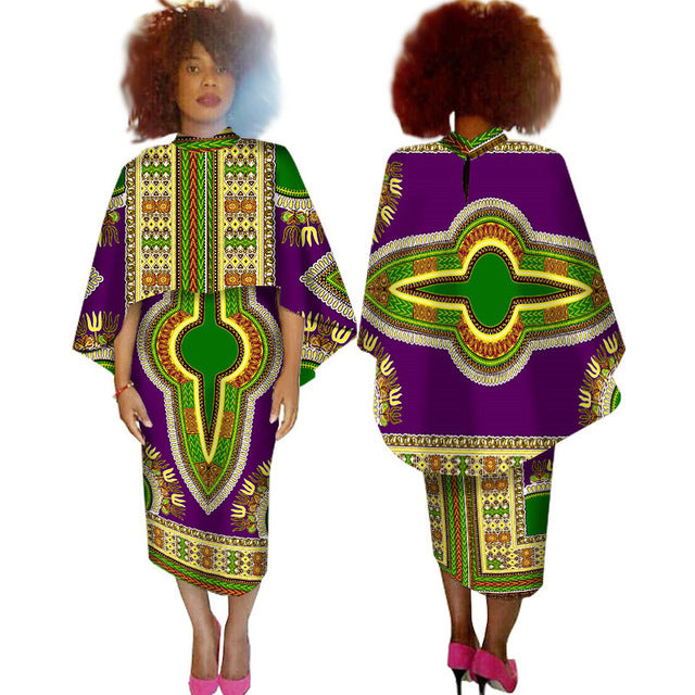 african dresses for women plus size top and pants bazin dashiki african  dresses for women Casual mid calfl african clothing