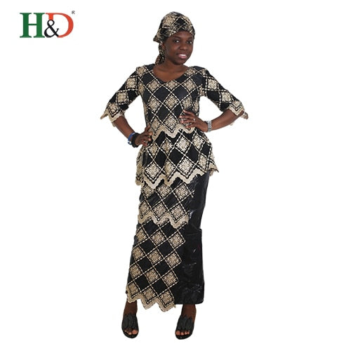 0ff2c1ace3a9e african kaftan african head wraps dashiki for women dress bazin riche lace  south africa clothing top skirt robe longue africaine