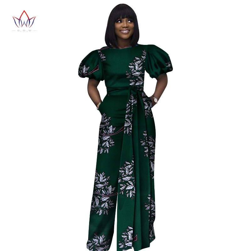 7c3f27d373 african women jumpersuit with print sexy overalls women jumpsuit elegant  o-neck dashiki pants plus size short sleeve 5xl WY2680 1