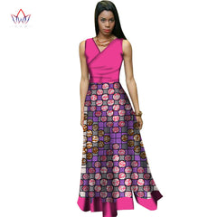 afrikaanse kleding voor vrouwen Vintage Maxi Dress Dashiki african  sleeveles dresses for women in african clothing ... b4d74938f4aa