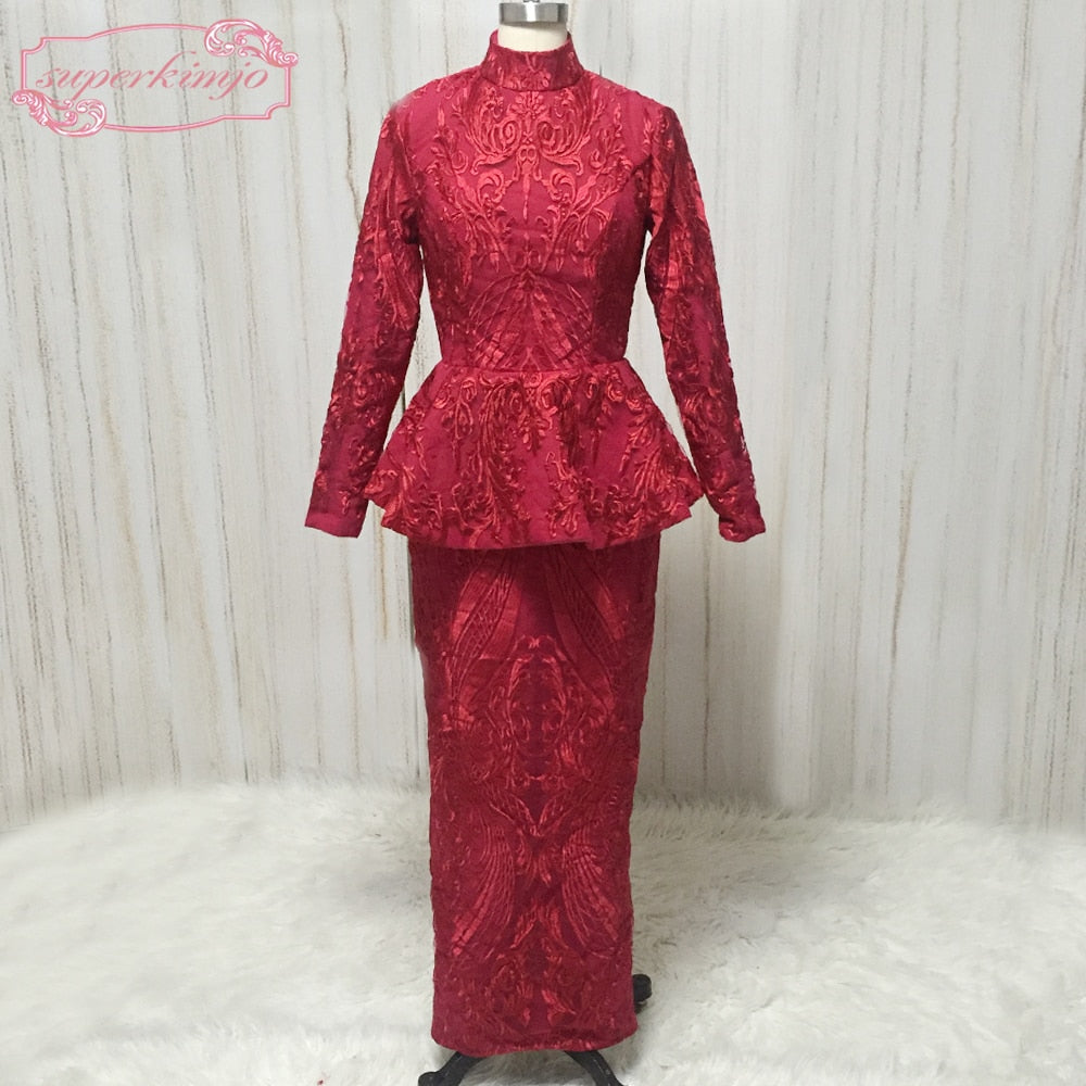 538a58f6555 Red Homecoming Dresses 2018 Long