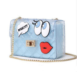 Designer Clear Candy Jelly Bag Transparent Messenger Bags Crossbody Shoulder Bags Girls Cute Lolita Ba