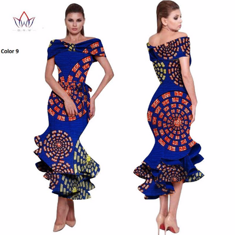 Ankara dress,Dashiki Dress,African Dress, African Styles,African Fabric,African Clothing - Owame