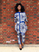 African Dress and Pant For Women, Dashiki Dress, African Dress, African Styles,African fashion,African Fabric,African Clothing - Owame