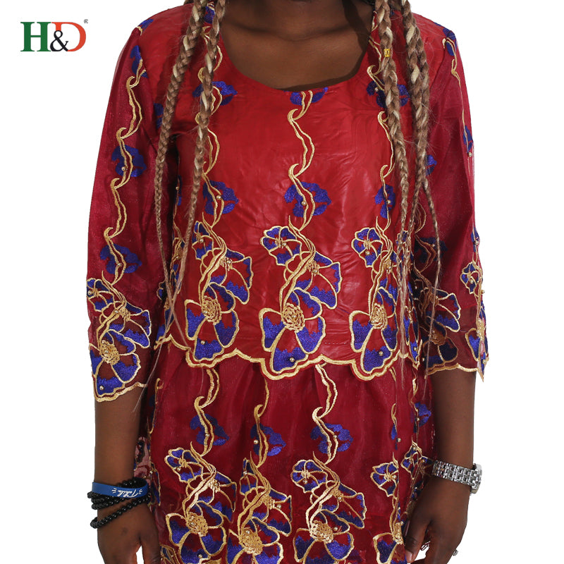 aa779566903 h amp d 2018 african women bazin dress head wraps south africa lace dresses  africaine nigerian. Hover to zoom