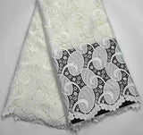 high quality Latest Excellent Mint Guipure lace fabrics with For Women Tradtional wedding lace fabrics