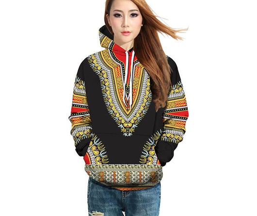 Traditional Dashiki Blazers suit zipper coat Long Sleeve Jackets Top