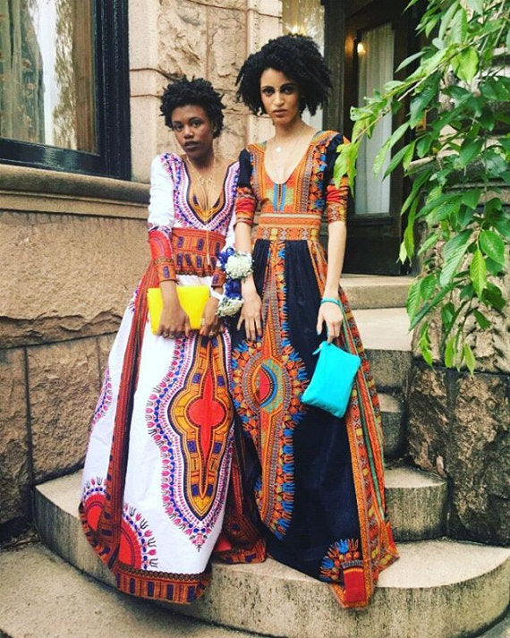 Prom Dashiki African Long dress for-women,special design women Africa Clothing pure cotton