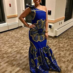 African Clothing , Ankara Women wear , Prom dress , African Dinner wear , Women wear , African gown.