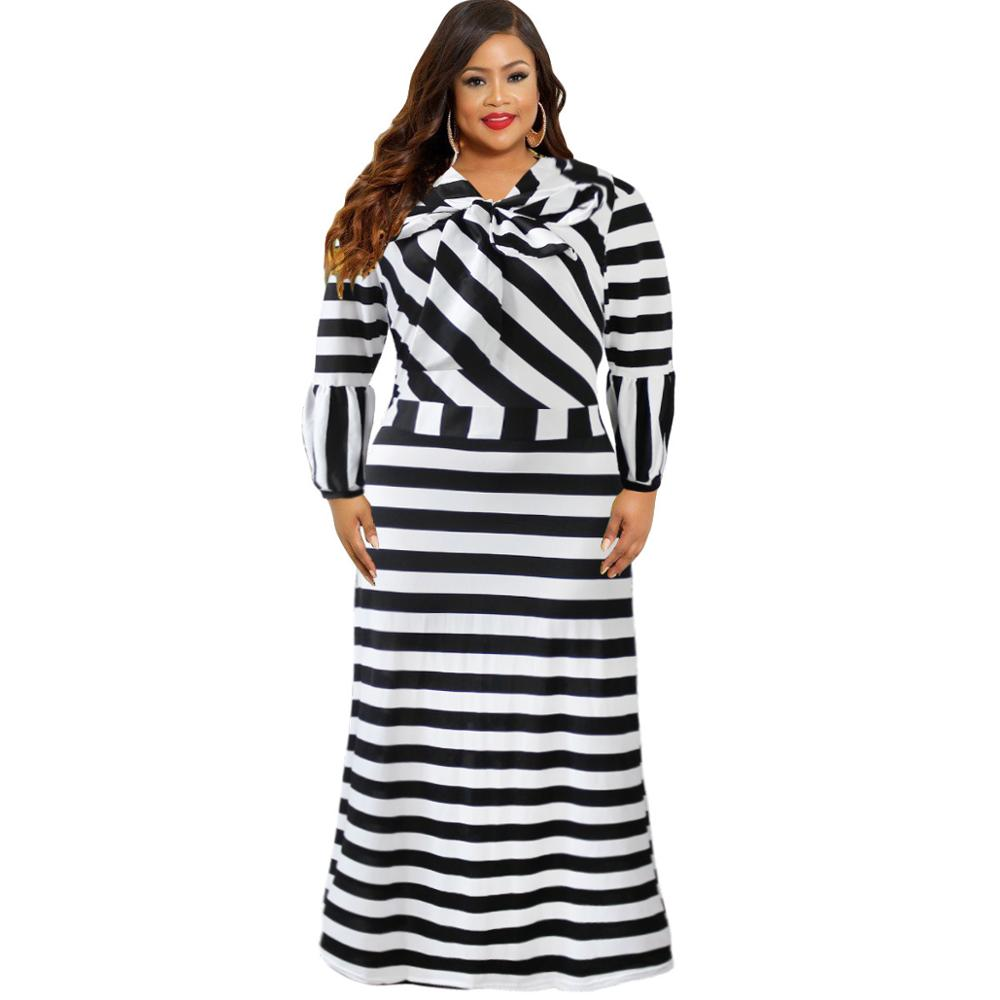 26372cb226761 new style African Women clothing Dashiki classic Print elastic cloth stripe  Long sleeve long dress Plus. Hover to zoom