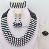 African Traditional Wedding Beads, Nigeria Wedding Jewelry Set - Owame