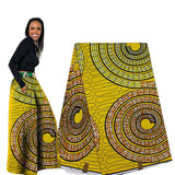 6yards Super wax african 100%cotton african fabric for wedding dress - Owame