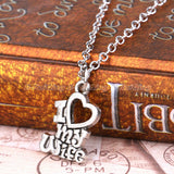 women's necklaces and pendants,Valentines,Christmas Gift I Love My Wife Husband Heart Letters Alphabet Pendant Necklace For Women Men Jewelry Lover Couple Collier Gifts
