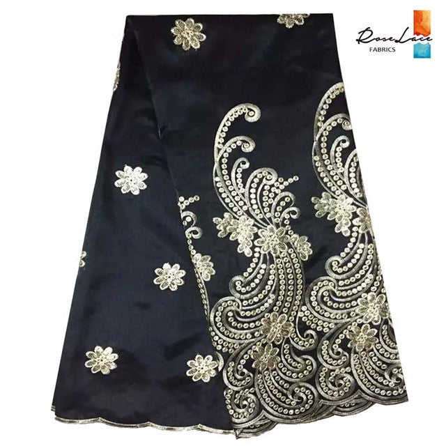 5 Yards Lot High Quality African Nigerian George india Lace Fabric - Owame