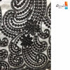 Image of 5 Yards Lot High Quality African Nigerian George india Lace Fabric - Owame
