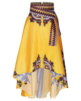 African bazin Riche Ankara Printed Skirt  for women - Owame