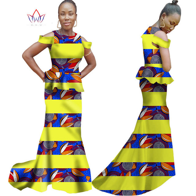 779ef91f4e1 ... Summer Women Dress Sleeveless Trumpet Mermaid Dress Maxi Dresses Ankara  Fashions Dashiki African Women Clothes 6XL ...